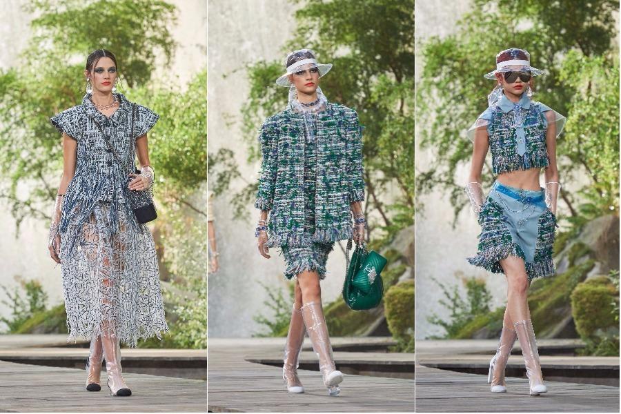 gennemsigtigt plastik net fashion