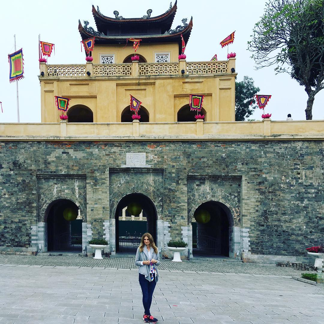 Thang Long Citadel Hanoi Vietman TravelerInVietnam travel traveler architecture cityvibeshellip