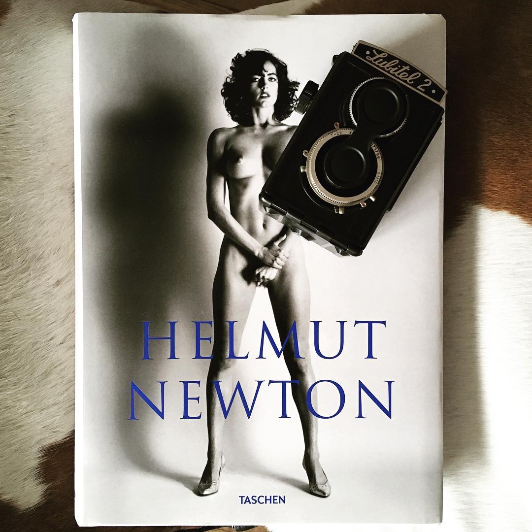 Moodboard for weekend photographybook helmutnewton blackandwhite art weekendvibes helmutnewtonfoundation taschen