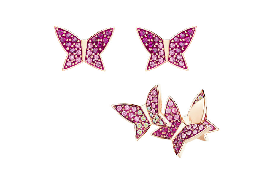 Swarovski LILIA EARRINGS (1)