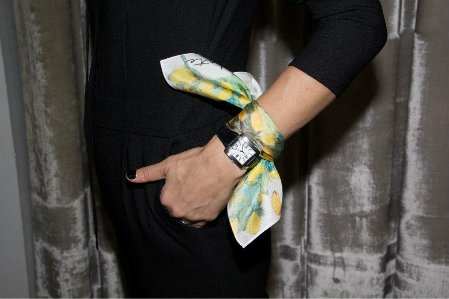 adria arte hand scarf