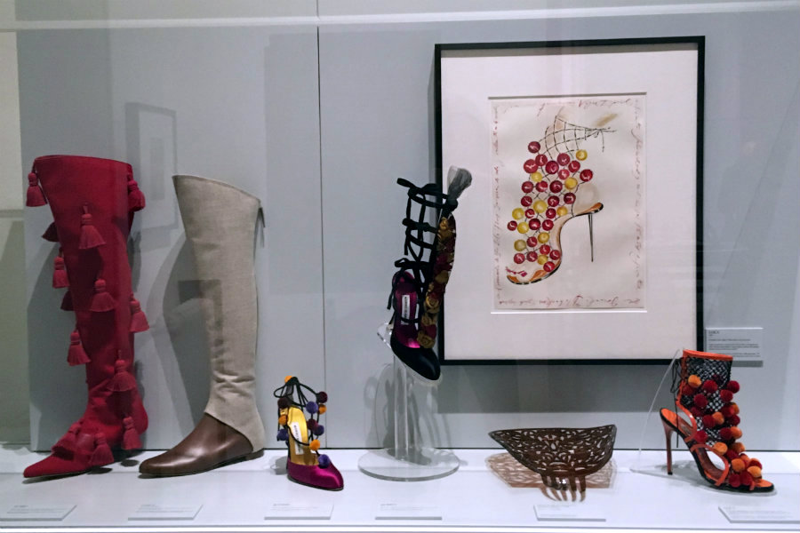 Vogue x Manolo Blahnik exhibition