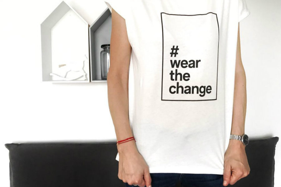 Wear The Change t shirt