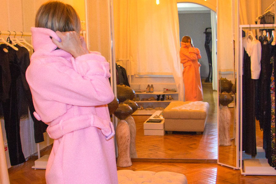 pink coat parlor