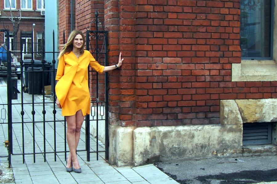 framboise dress