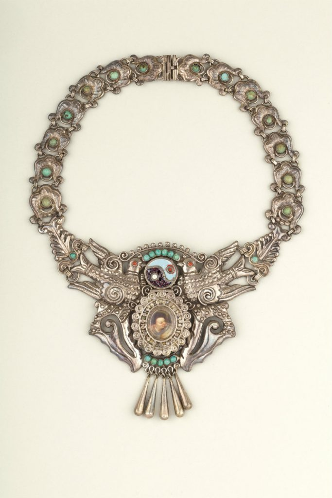 Necklace made by Matilde Poulat, Mexico City
