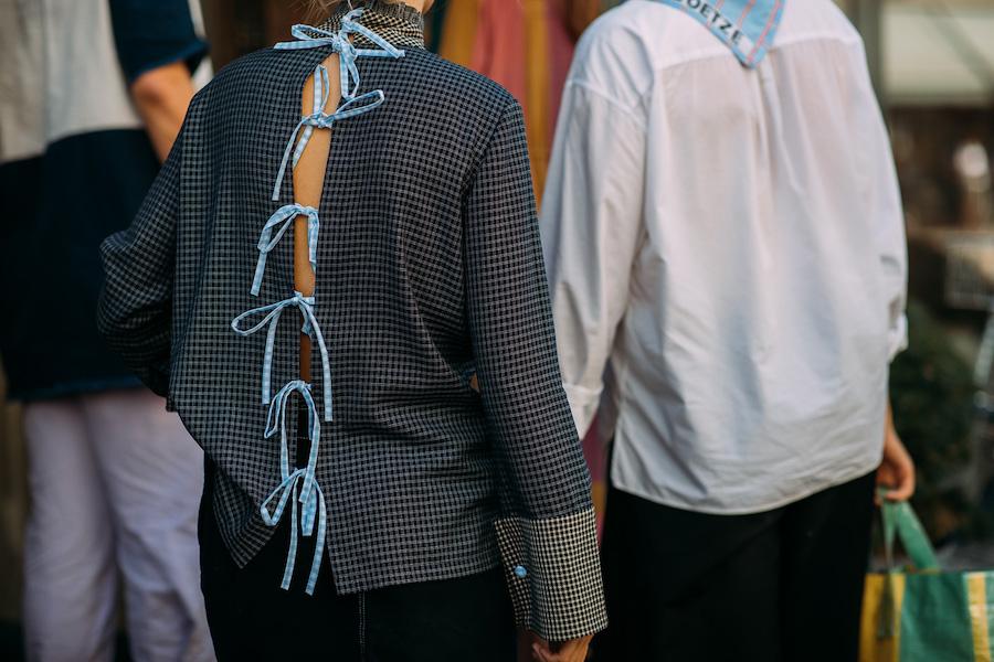 copenhagen fashion week street style ss19 back detail
