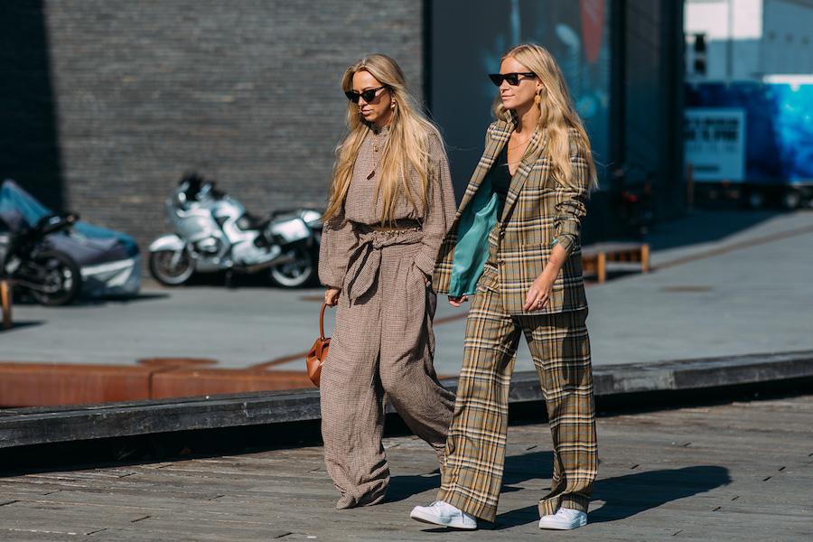copenhagen fashion week street style ss19 cheks