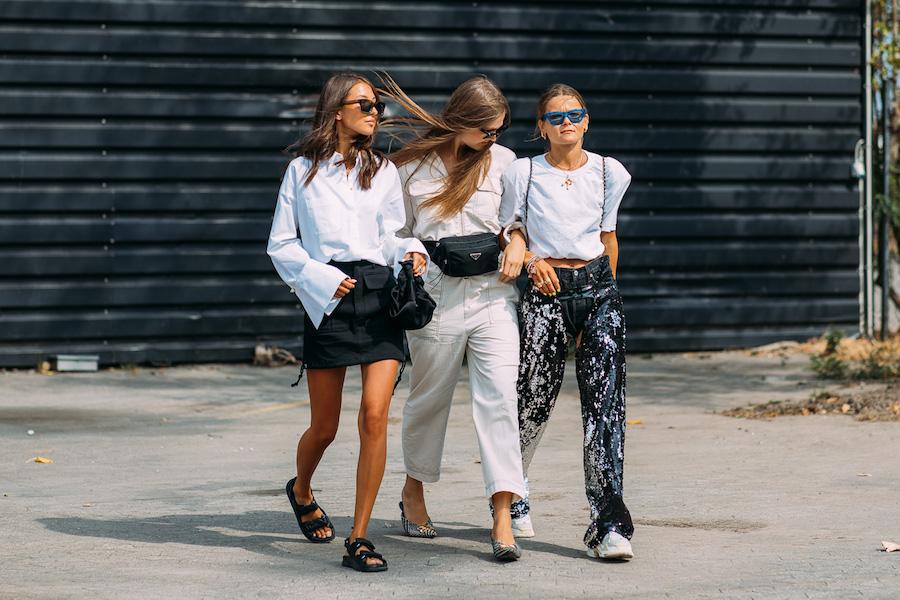 copenhagen fashion week street style ss19 girls group
