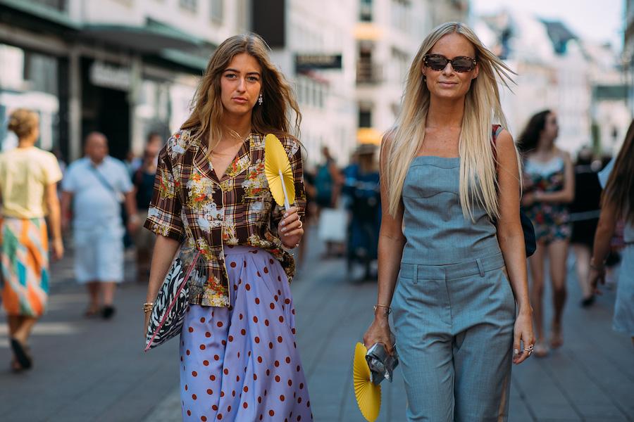 copenhagen fashion week street style ss19 girls