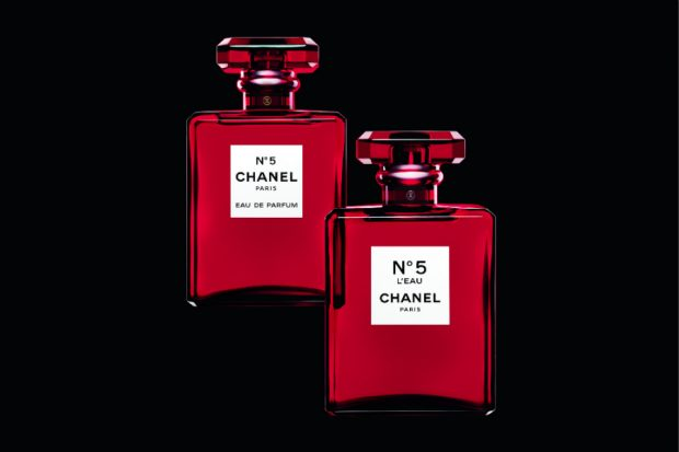 chanel no 5 red