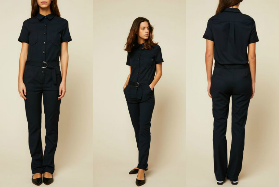 chic jumpsuit denim