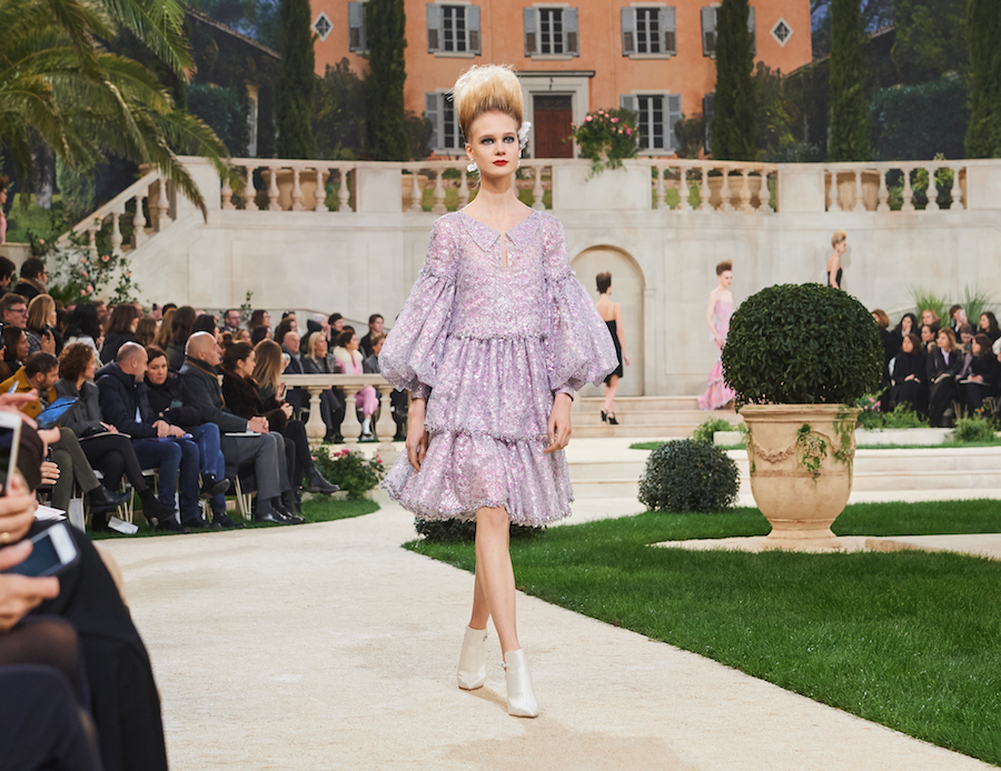 chanel haute couture Spring Summer 2019 look
