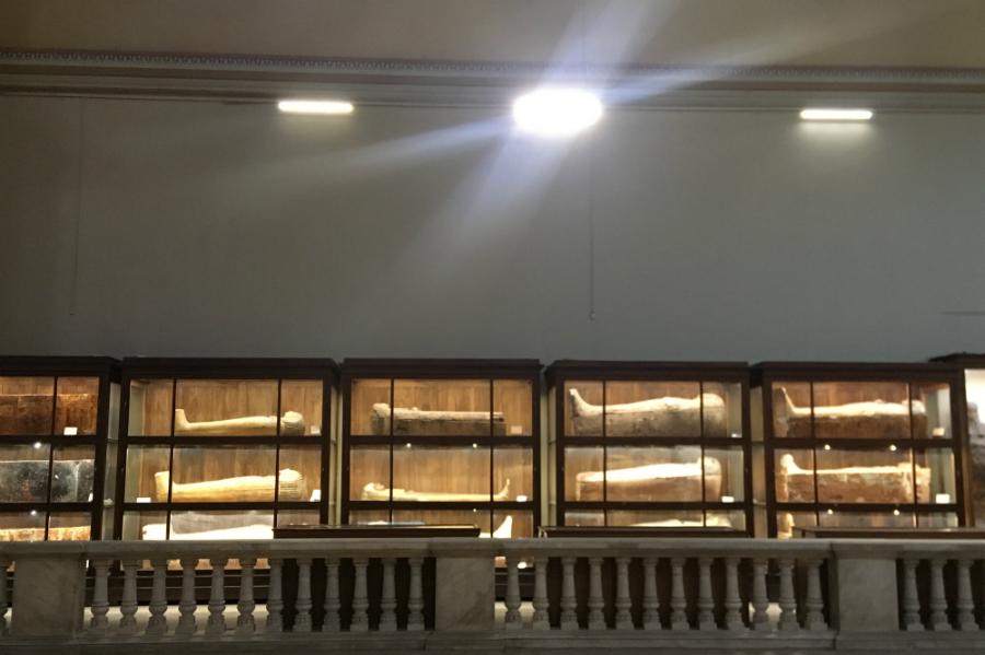 egypt cairo museum mummy