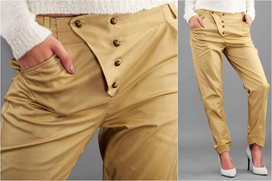 chic paris bucarest beige pants