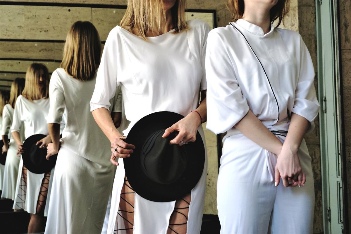 corina boboc ss19 white collection