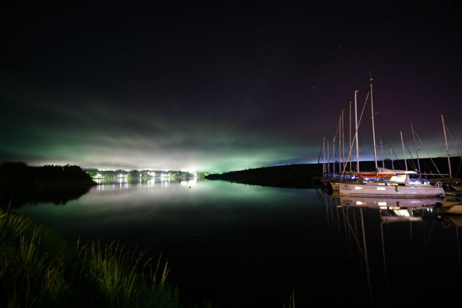 limanu harbour night