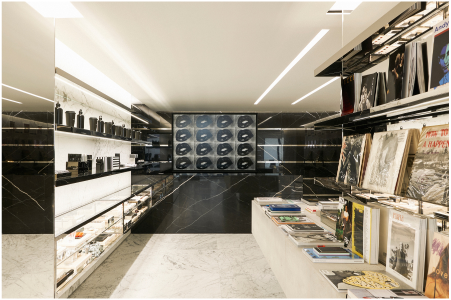 saint laurent rive droite books